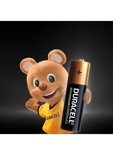 Duracell Şarj Edilebilir Aa 2500Mah Piller, 2 Li Paket X2 (4 Adet) Renkli